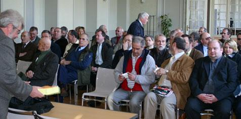 Représentants des Fédérations Au Quesnoy