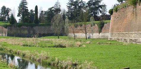 Visite de la ville fortifiée du Quesnoy Avril 2005