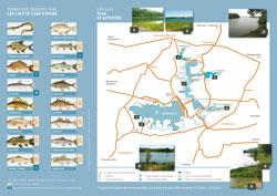 Plaquette de promotion du loisir pêche sur les Lacs de l'Eau d'Heure