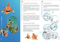 Brochure de promotion des écoles de pêche et des stages de pêche