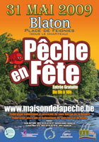 Affiche de pêche en fête 2009