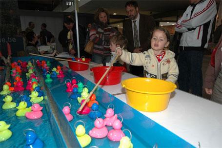 Activités organisées dans le cadre de la Fête de la Pêche à Ath en 2006