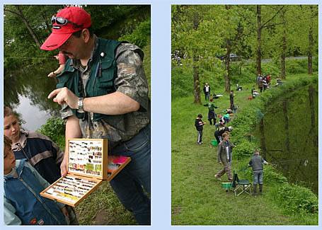Présentation de mouches Pêche en Fête 2006 - Habay-la-Neuve