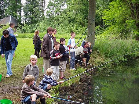 Le 3 juin de 10h à 18h, la pêche était en fête à jodoigne