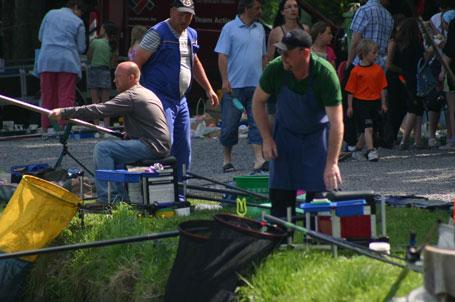 Concours de pêche étangs de Coeurcq à Tubize