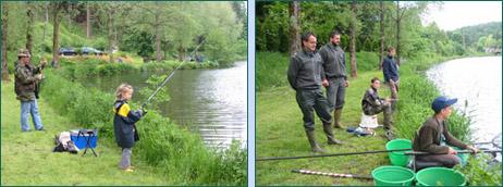 Initiation à la pêche pour les jeunes