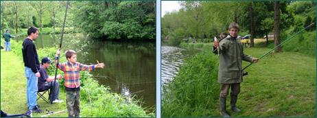 Initiation à la pêche pour les jeunes - Pêche en Fête 2005 Habay-la-Neuve