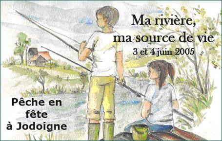 Pêche en Fête Jodoigne - Ma rivière, ma source de vie 3 et 4 juin 2005
