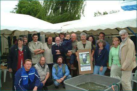 Les organisateurs des journées de Pêche en Fête à Jodoigne