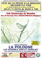 Affiche Fête de la pêche à la mouche 2010