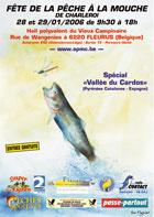 Affiche Fête de la pêche à la mouche 2006