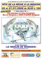 Affiche 2008 Fête de la pêche à la mouche de Fleurus