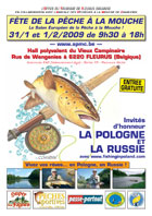 Affiche de la Fête de la pêche à la mouche de Fleurus