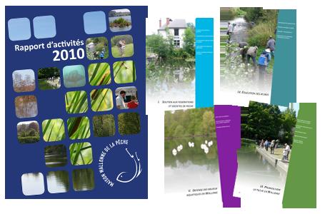 Rapport d'activités 2010 de la Maison wallonne de la pêche