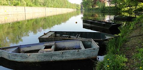 Barque - Darse de Cheratte