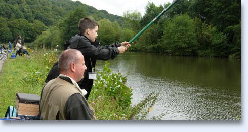 Initiation à la pêche au coup en Sambre