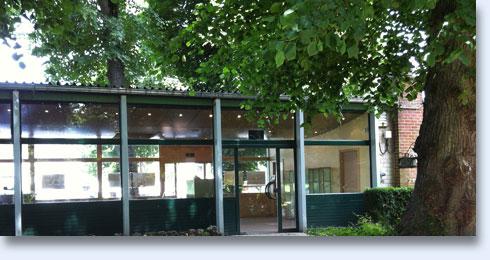 Pavillon vert Abbaye d'Aulne