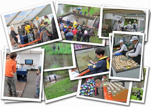 Photographies de l'édition 2013 de Pêche en fête à Habay-la-Neuve