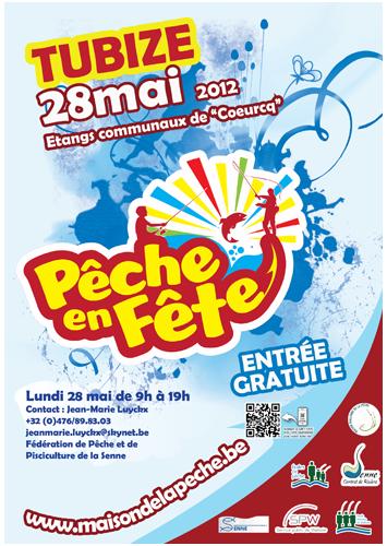 Affiche de la fête de la pêche 2013
