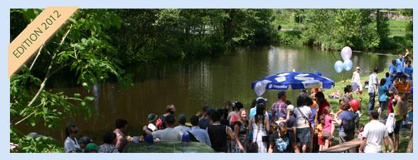 Edition 2012 de pêche en fête à Habay-la-Neuve - Pêche miraculeuse