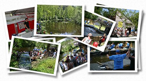Photographies des éditions pêche en fête à Habay-la-Neuve