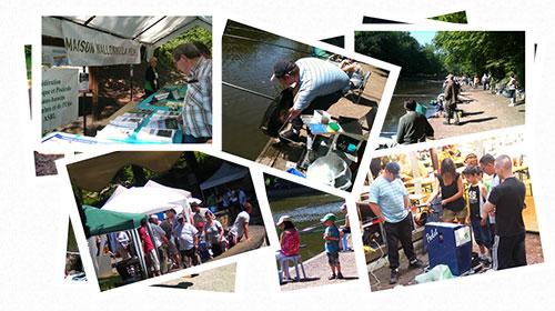 Photographies de l'édition 2012 de Pêche en fête à Marcinelle