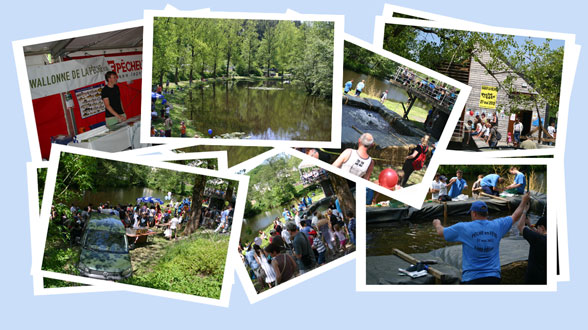 Compilation de photos de l'édition 2012 de Pêche en fête à Habay-la-Neuve
