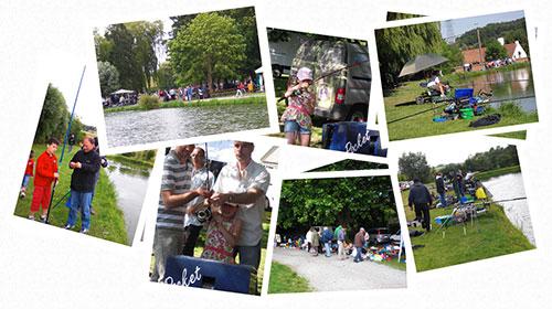Photographies de l'édition 2012 de Pêche en fête à Tubize