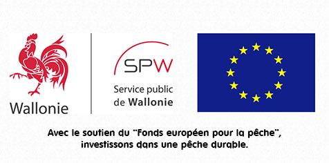 Logos du SPW et de l'Europe