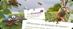 affiche de la campagne de sensibilisation Biodiversité 52