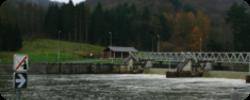 Photographie d'un barrage de la Haute Meuse