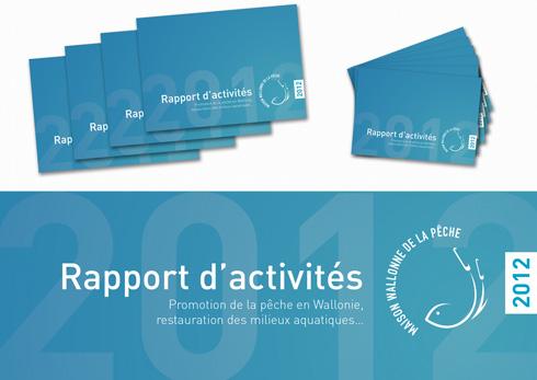 Illustration du rapport d'activités 2012 de la Maison de la pêche